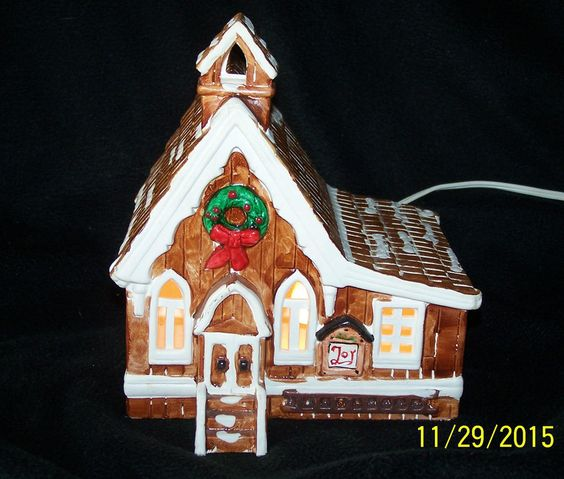 Vintage Dept 56 The Exclusive Snow House Series Pioneer Churc