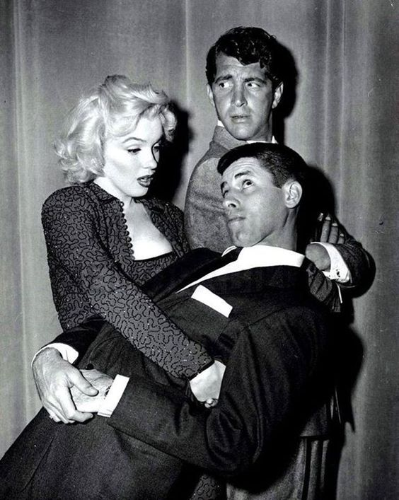 Marilyn Monroe, Dean Martin & Jerry Lewis