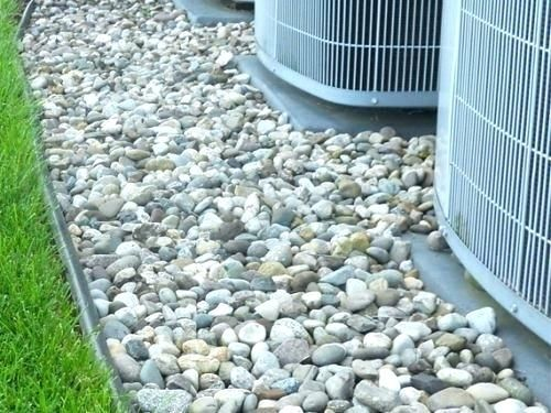 Installing Landscape Rock Around House Landscaping With Rocks