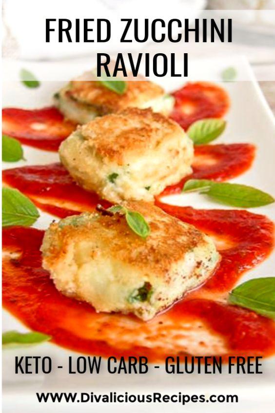 Fried Zucchini Ravioli