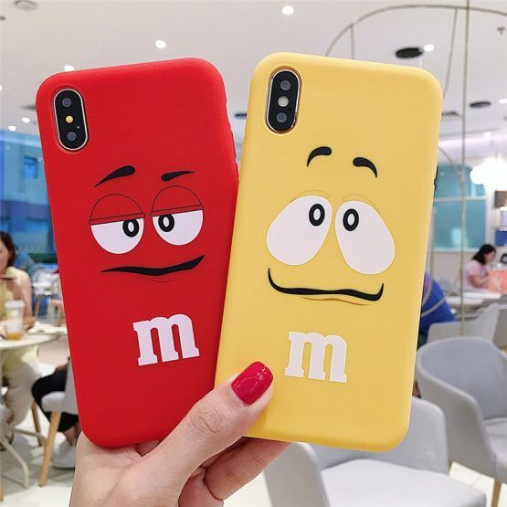 coque iphone 7 m&m's