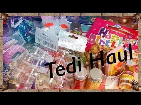 Haul Tedi Schnappchen Aufbewahrung Und Streudeko I Winnie Kreativa Youtube Tedi Streudeko Schnappchen