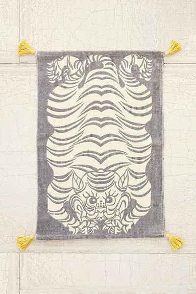 Crochet rug race track