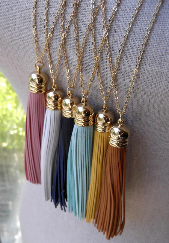 Tassel Necklaces: