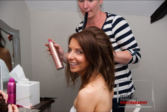Weston Hall, Staffordshire Sophia Tolli Wedding Dress Bridal hair Hair up Side up do Bridesmaid hair Bridal make up Bridesmaid make up