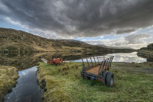 county old ireland summer vacation sky irish plants lake holiday snow tractor mountains reflection abandoned tourism nature wet water grass clouds reeds lens landscape photography countryside wooden moss still nikon europe lough photographer cattle natural farm heather side country wide scenic visit tourist calm hills equipment valley swamp fox land hd marsh trailer machines nikkor bog rushes gareth hdr donegal tyrone wray lakescape strabane ballybofey tonemapped fintown stranorlar 1024mm…