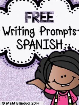 FREE Writing Prompts {SPANISH}