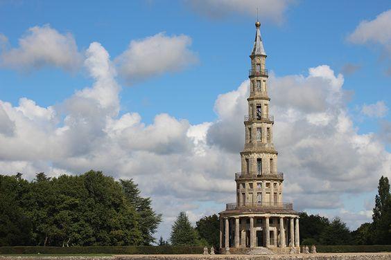 Château de la Loire : pagode de Chanteloup.