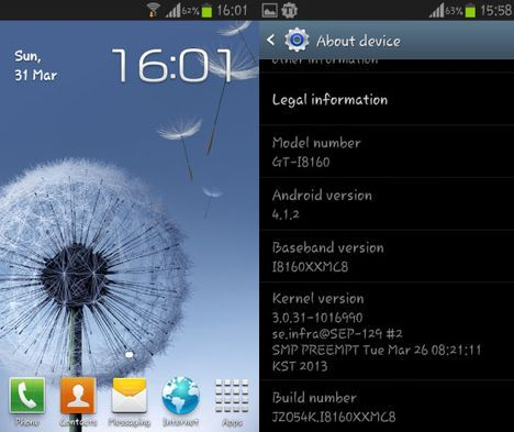 The Samsung GALAXY Ace 2 Android 4.1.2 update is launched in Portugal, the I8160XXMC8 update is via OTA and Samsung KIES for the GALAXY Ace 2 available