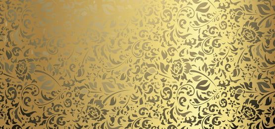 Golden And Black Backgroun With Floral Luxurious Graphic Design Background Templates Floral Cards Design Black Background Wallpaper