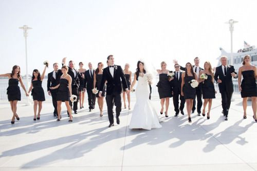 Awesome All Black Wedding Party Gallery - Styles & Ideas 2018 ...