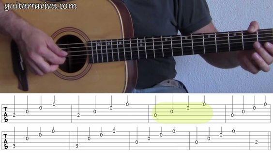 Más lecciones de guitarra GRATIS en http://www.guitarraviva.com Facebook: http://www.facebook.com/escueladeguitarra Twitter: http://www.twitter.com/guitarrav...