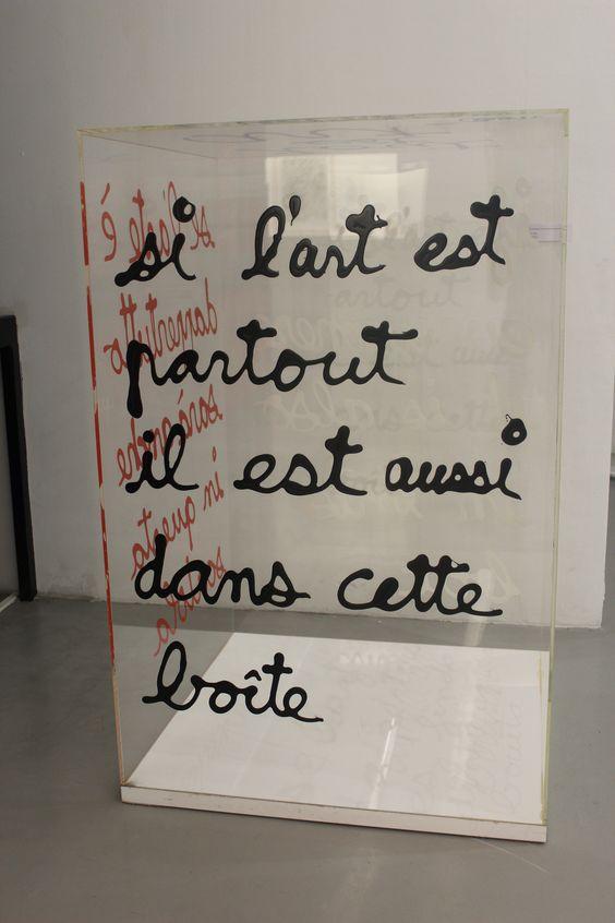 """nizza museum museum moderner kunst: """"kunst ist überall, auch in dieser box"""" #modernart #art"""