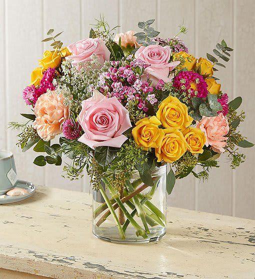 Country Garden Bouquet In Astoria Ny J J Flowers Designs Events Wedding Flower Arrangements Fall Flower Delivery Flower Arrangements