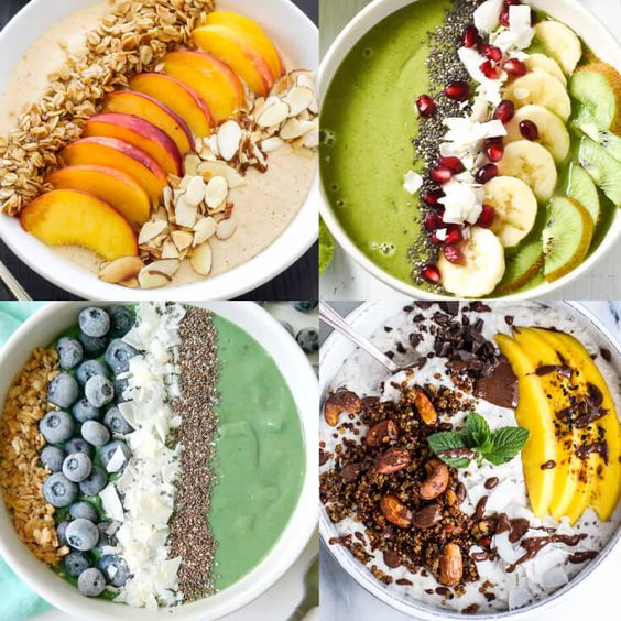20 Smoothie Bowl Recipes — the Trend Both Kids and Adults Love!