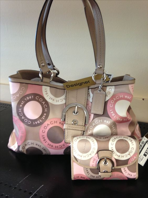 Coach Purse $70 Matching Coach wallet $30