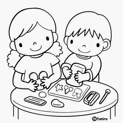 Dibujos Para Colorear Maestra De Infantil Y Primaria El Colegio Dibujos Para Colorear Igual Que E Ninos En La Escuela Dibujo De Ninos Jugando Ninos Leyendo