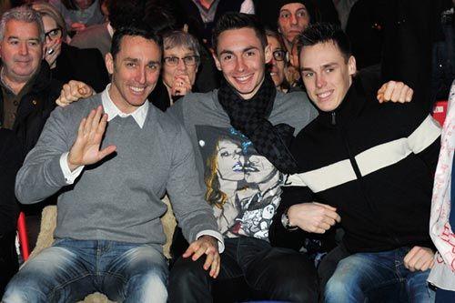 Los hijos de Estefanía de Mónaco invitan a su padre, Daniel Ducruet, al circo #montecarlo #festival #royals