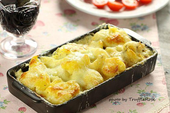 Mozzarella。焗烤香草馬鈴薯-120827