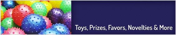 Shop Toys, Prizes, Favors, Novelties, and More!