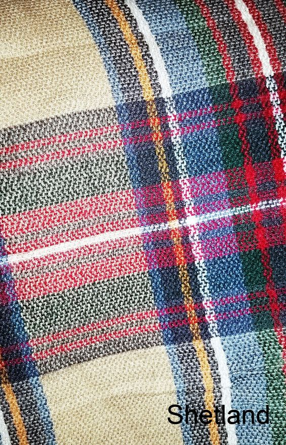 Plaid Blanket Scarf - More Colors Available