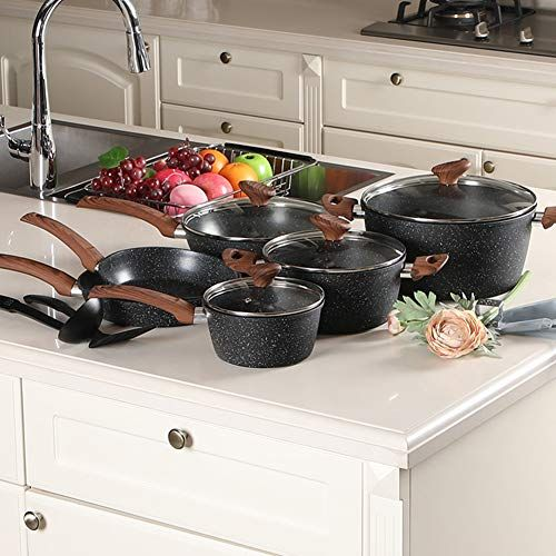 Benecook 12 Piece Nonstick Cookware Set Dishwasher Safe Online