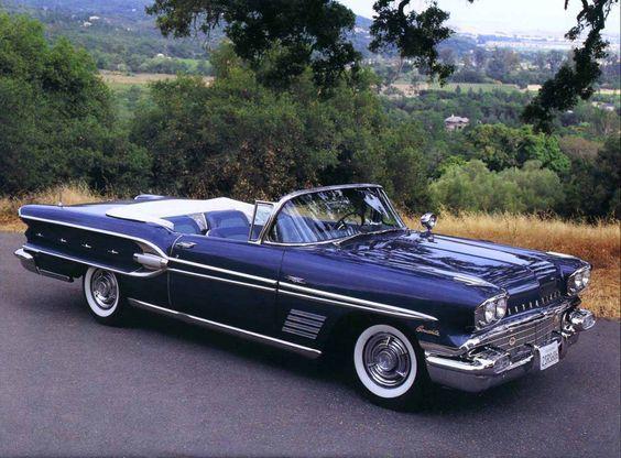 1958 Pontiac Bonneville. Over 1030 Different Classic Cars http://www.pinterest.com/njestates/cars/ … Thanks To http://www.NJEstates.net/