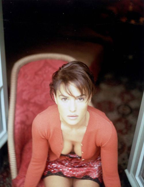 Monica Bellucci II, Paris; by Bruno Bisang (1996)
