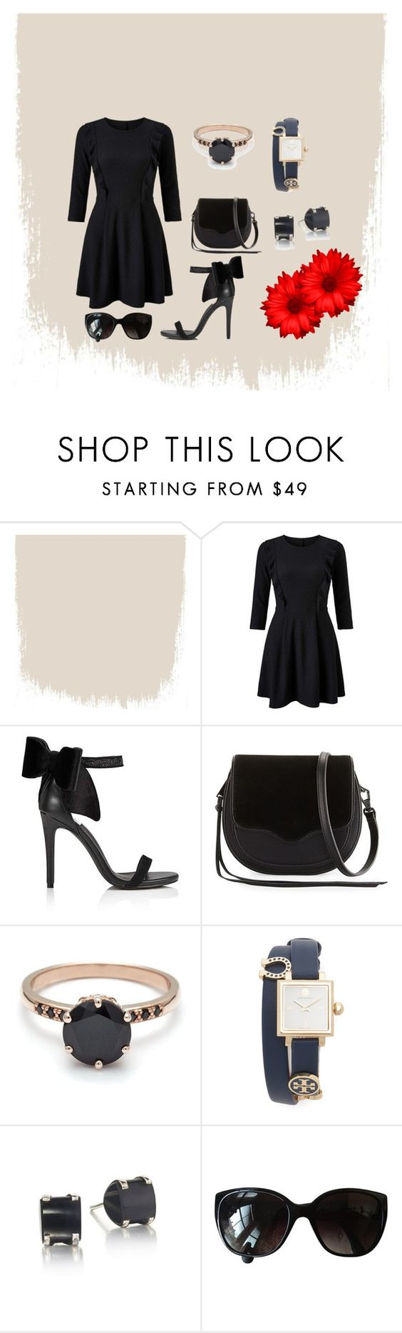 """""""Chique"""" by megeller on Polyvore featuring moda, Miss Selfridge, Rebecca Minkoff, Tory Burch e Chanel"""