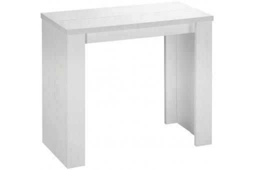 Table Console Extensible Blanche Pas Chere Console Extensible Table Console Extensible Console Blanc