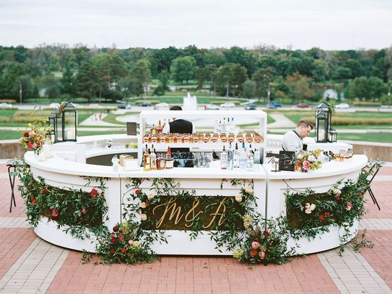 Impressive Wedding Bar Themes and Setup Ideas, 3dc8d9ec171e7fb14530e4af8d8cea50