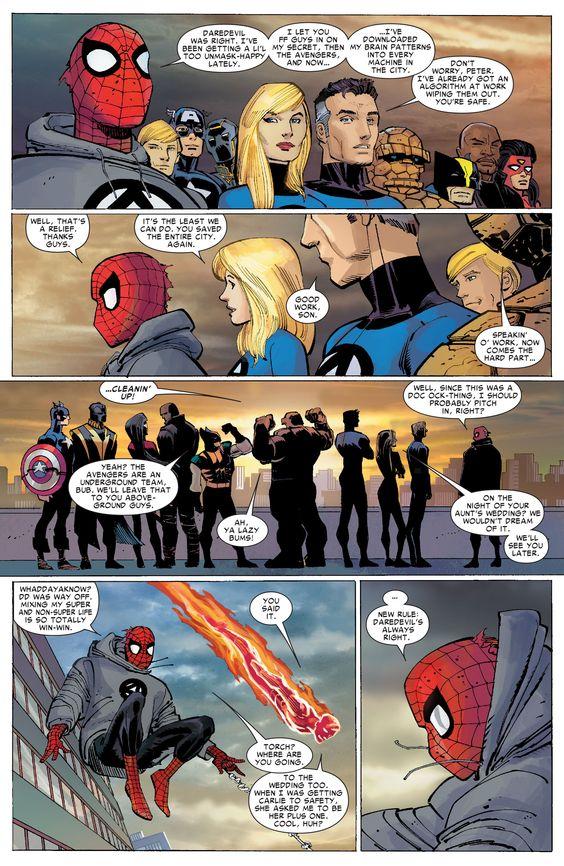 The Amazing Spider Man 600 Peter Is Adorable Superhero Facts Marvel Spiderman Marvel Comics Art