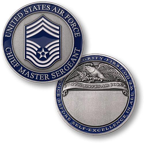 Chief Master Sergeant Engravable
