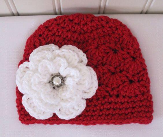 Otro gorro rojo crochet