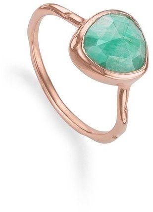 PIN ➕ INSTA: @sophiekateloves ✔️  MONICA VINADER 'Siren' Semiprecious Stone Stacking Ring
