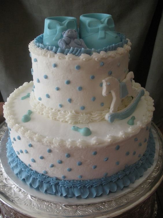 buttercream baby shower cakes  this baby shower cake was an, Baby shower invitation