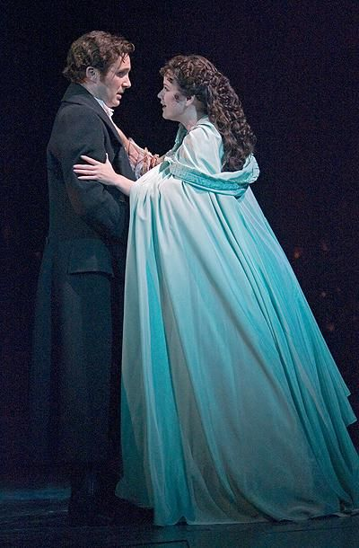 Simon Bailey and Gina Beck in The Phantom of the Opera - London