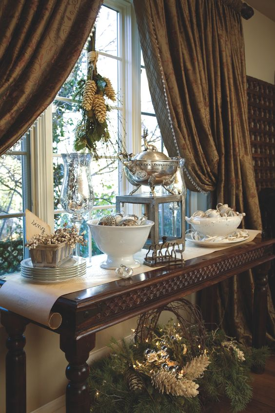 Buffet Window And Tables On Pinterest