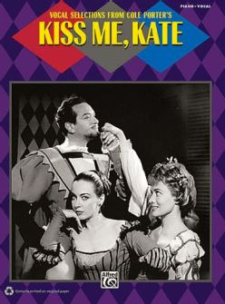Kiss Me Kate Piano/Vocal Selections Songbook