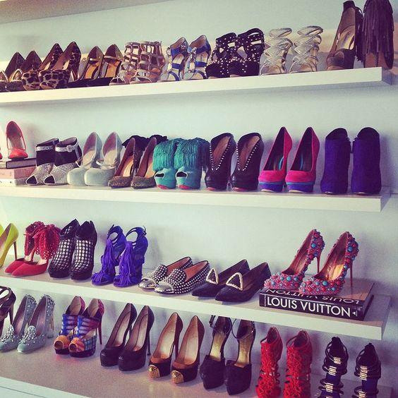 como organizar zapatos de tacon www.comoorganizarlacasas.com