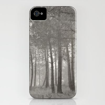 Misty forest iPhone Case by Guido Montañés - $35.00