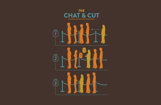 Chat and Cut by Busted tees.com  I hate when this happens!