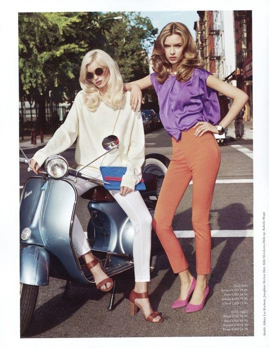 H Magazine Spring 2012, Josephine Skriver & Abbey Lee Kershaw