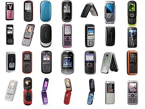 Old Alcatel Mobile Phone