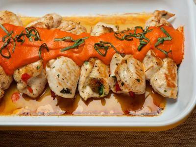 chicken vegetable braciola-Gluten Free