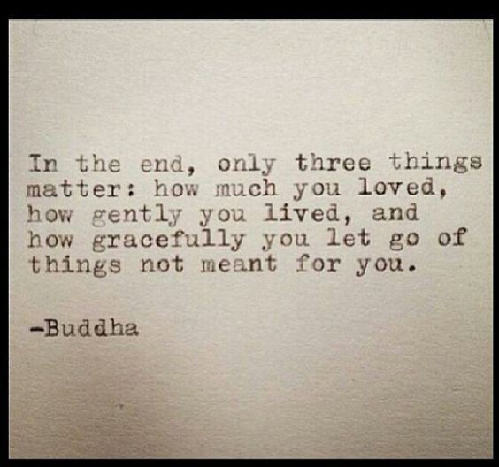 Powerful Quotes For Tattoos Quotesgram: Love, Live, Let Go... Powerful Buddha Quote