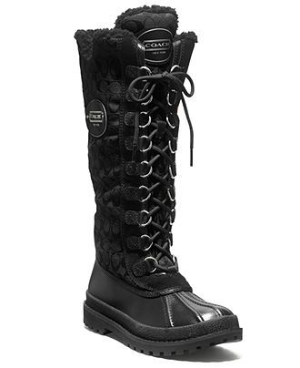COACH LIBBY BOOT - Shoes - Macy's