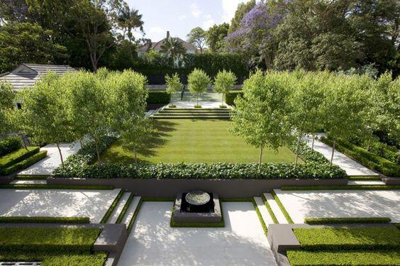 Contemporary gardens modern gardens formal gardens stylish gardens
