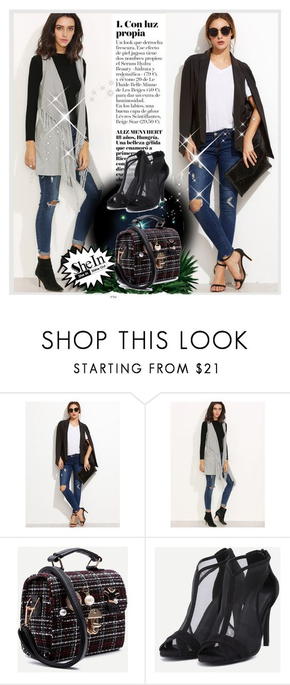 """SHEIN 10"" by mirecr7 ❤ liked on Polyvore"