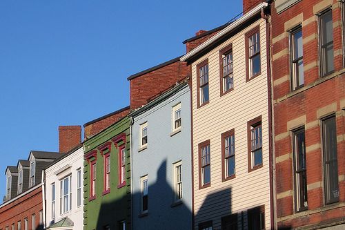 Portsmouth, NH buildings by redjar, via Flickr